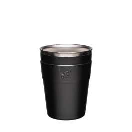Thermal Cup - Black 12oz
